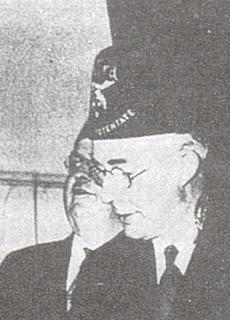 FDR in his Shriner hat.
