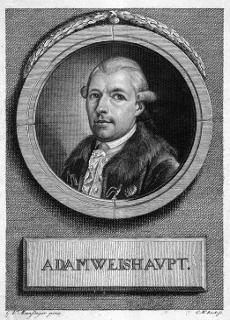 Founder of the Bavarian Illuminati.