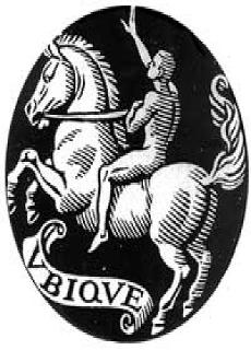 VBIQVE or UBIQUE as in UBIQUE PATRIAE MEMOR is Latin for Everywhere or On All Sides